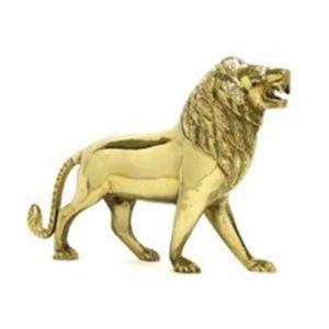 Vastu Sarwasv Brass Lion