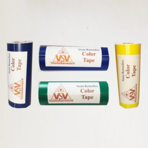 Colorful Tapes for Vastu