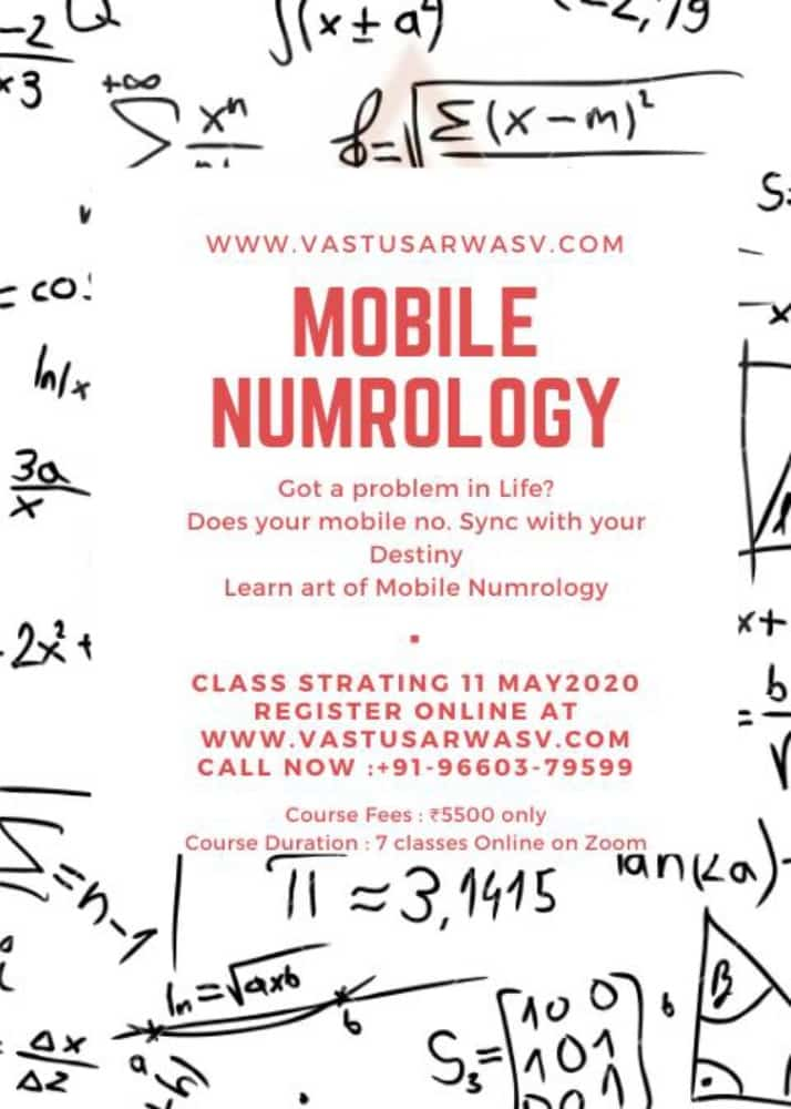 Best Numerology Course - Vastu Sarwasv - Best Vastu Shastra Consultant In Jaipur