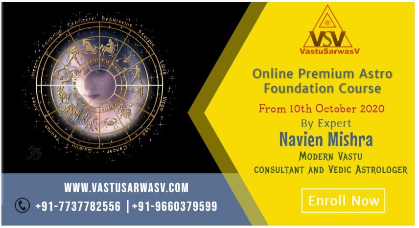 Online Premium Astro Foundation Course by Expert Navien Mishrra - Enroll Now