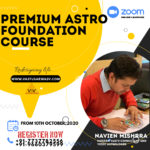Premium Astro Foundation Course - Best Astrology Course near you