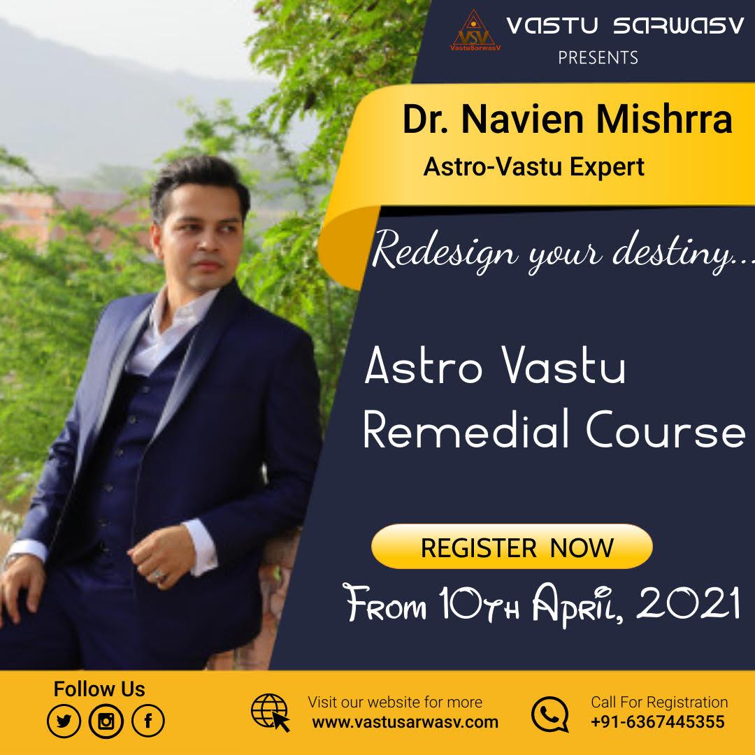 Astro Vastu Course - Contact 6367445355 - Vastu Sarwasv - Best Vastu in Delhi